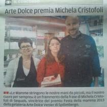 """Concorso """"Festa della Mamma"""": vince Michela Cristofoli"""